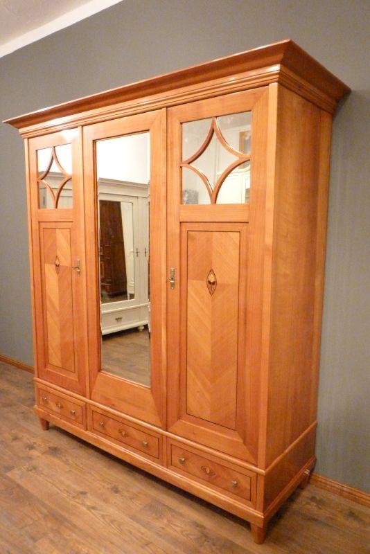 jugendstil kleiderschrank kirschholz berlin schrank536. Black Bedroom Furniture Sets. Home Design Ideas